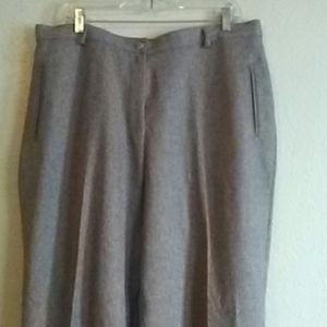 Alia Dress Tan Trousers